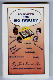 So What's The Big Issue?