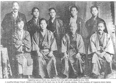 Image result for Kanryo Higaonna with students