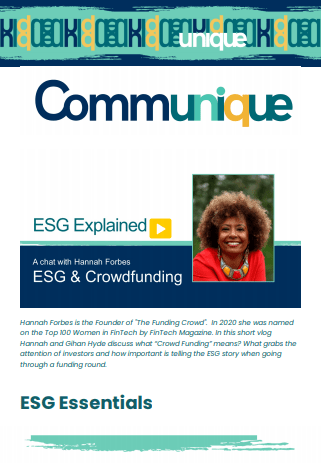 """""""ESG Explained"""" Issue 2 – May 13th"""