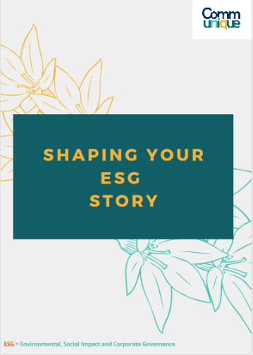Shaping your ESG Story