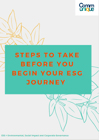 Steps to before you begin your ESG Journey