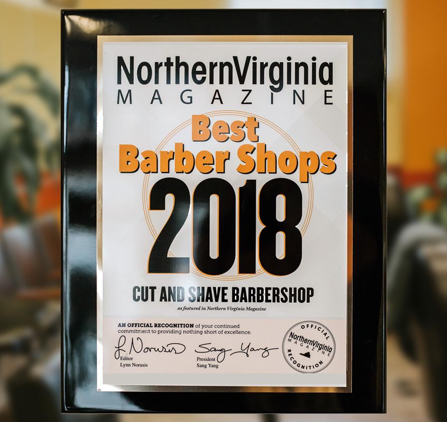Among Best Barber Shops 2018