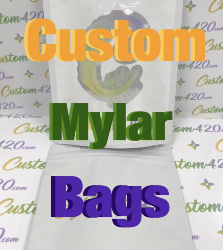 Custom Mylar Bag Packaging