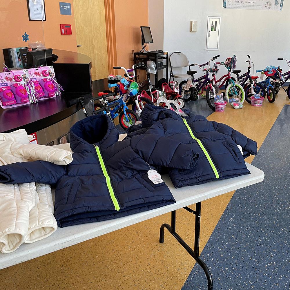 Dryades YMCA Bike Donation