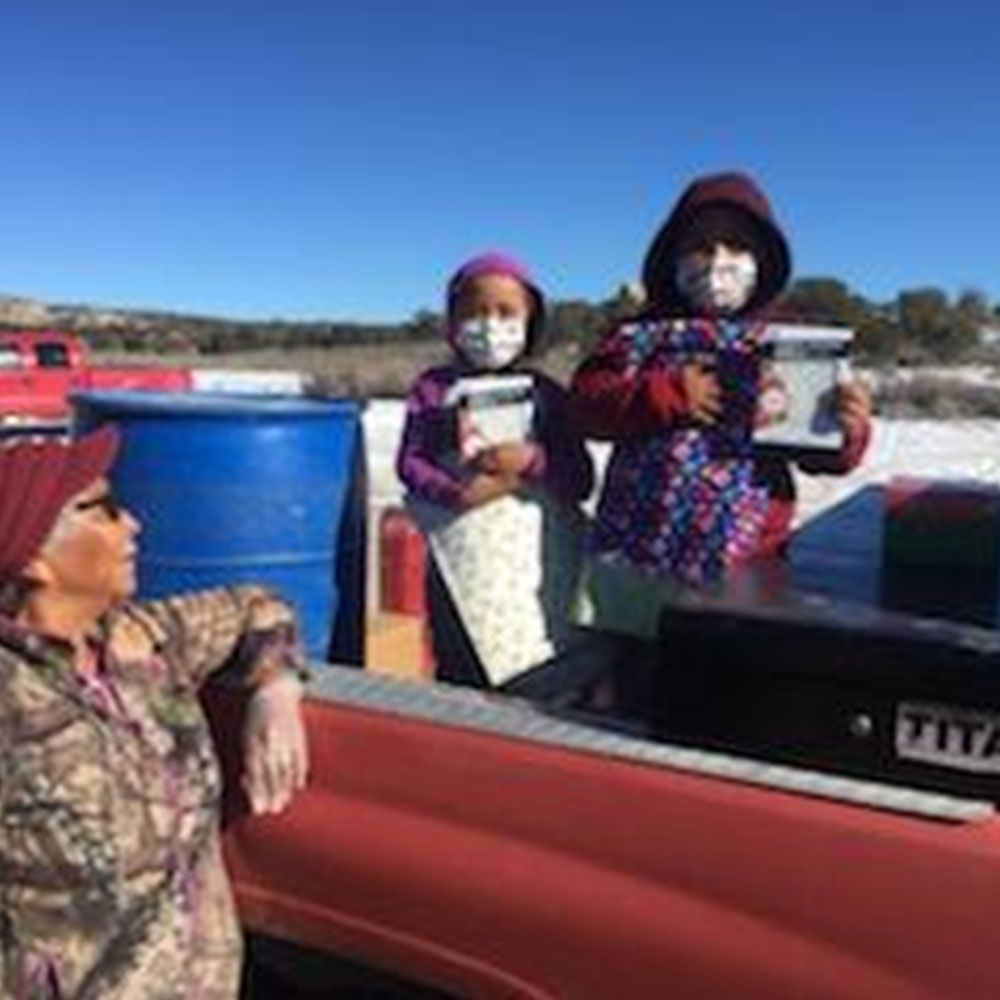 Navajo and Coushatta Tribe Donation