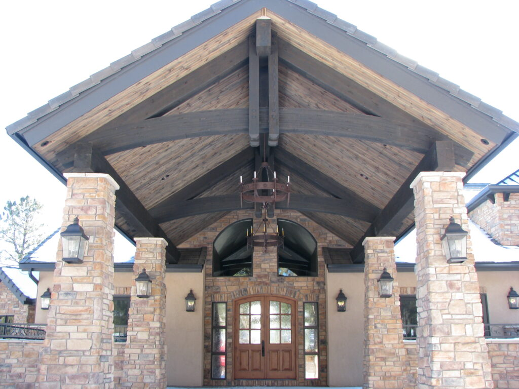 Timber Truss Front