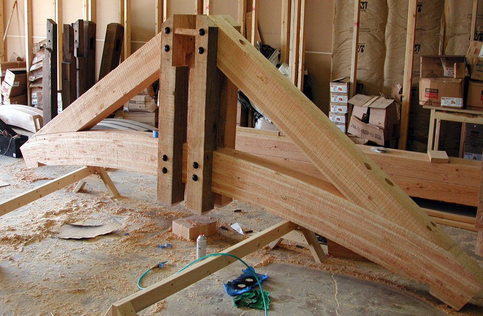 Timber Trusses in Production