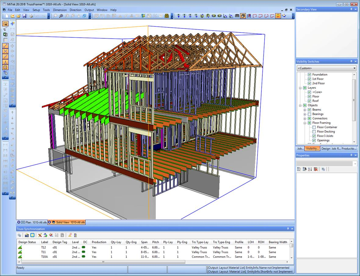 Structural Truss Engineering Program 3D