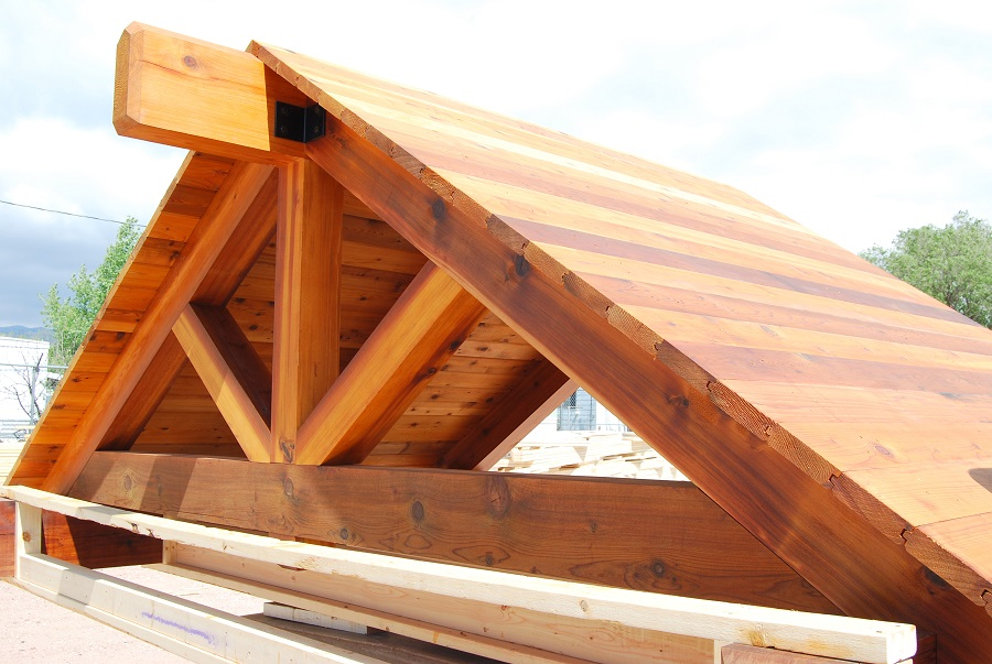 Decorative Timber Truss