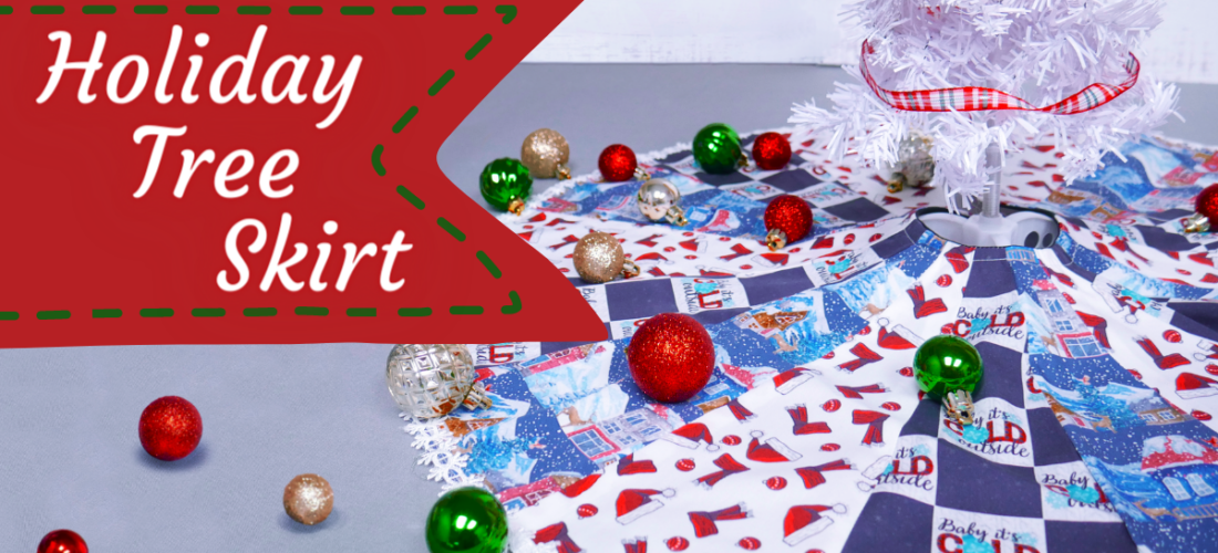 Tree Skirts for EVERY Holiday!