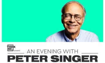 An evening with Peter Singer