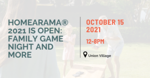 Read more about the article Homearama® 2021 Family Game Night is October 15