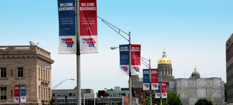 NGA downtown banner