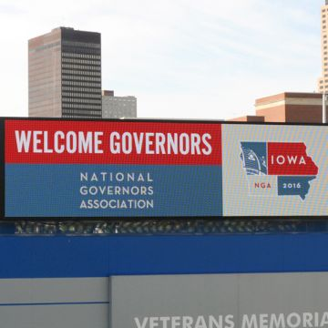 National Governors Association Iowa