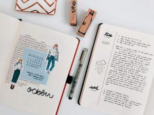Minimal bullet journal