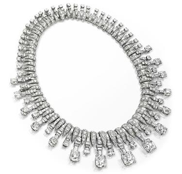 An Art Deco Diamond Necklace, by Bulgari, circa 1935