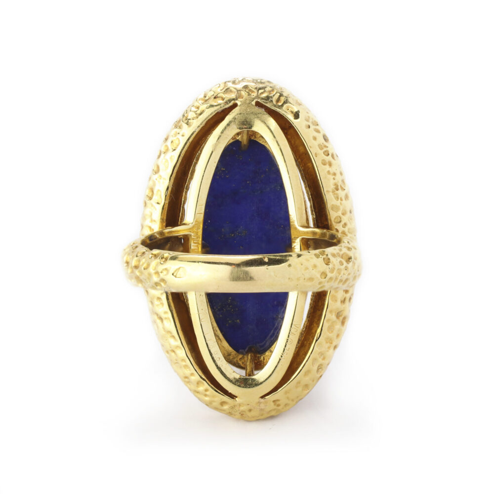 Van Cleef & Arpels Lapis Lazuli and Gold Ring