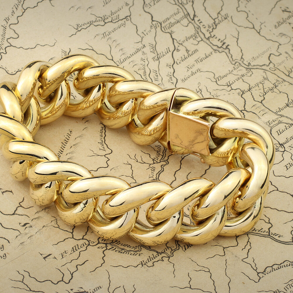 Gold Link Bracelet