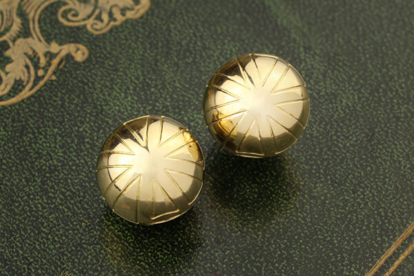 Bulgari Gold Ear Clips