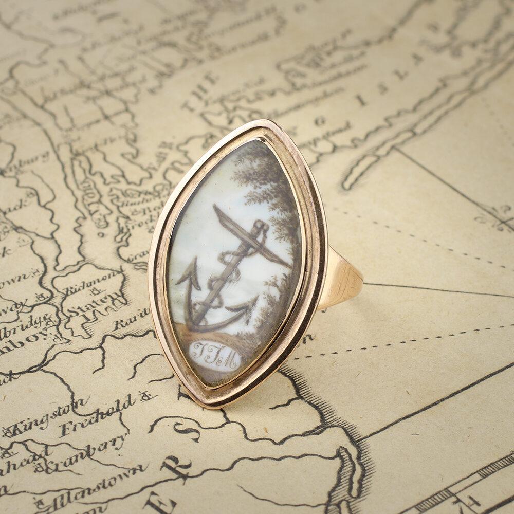 An English Mourning Ring