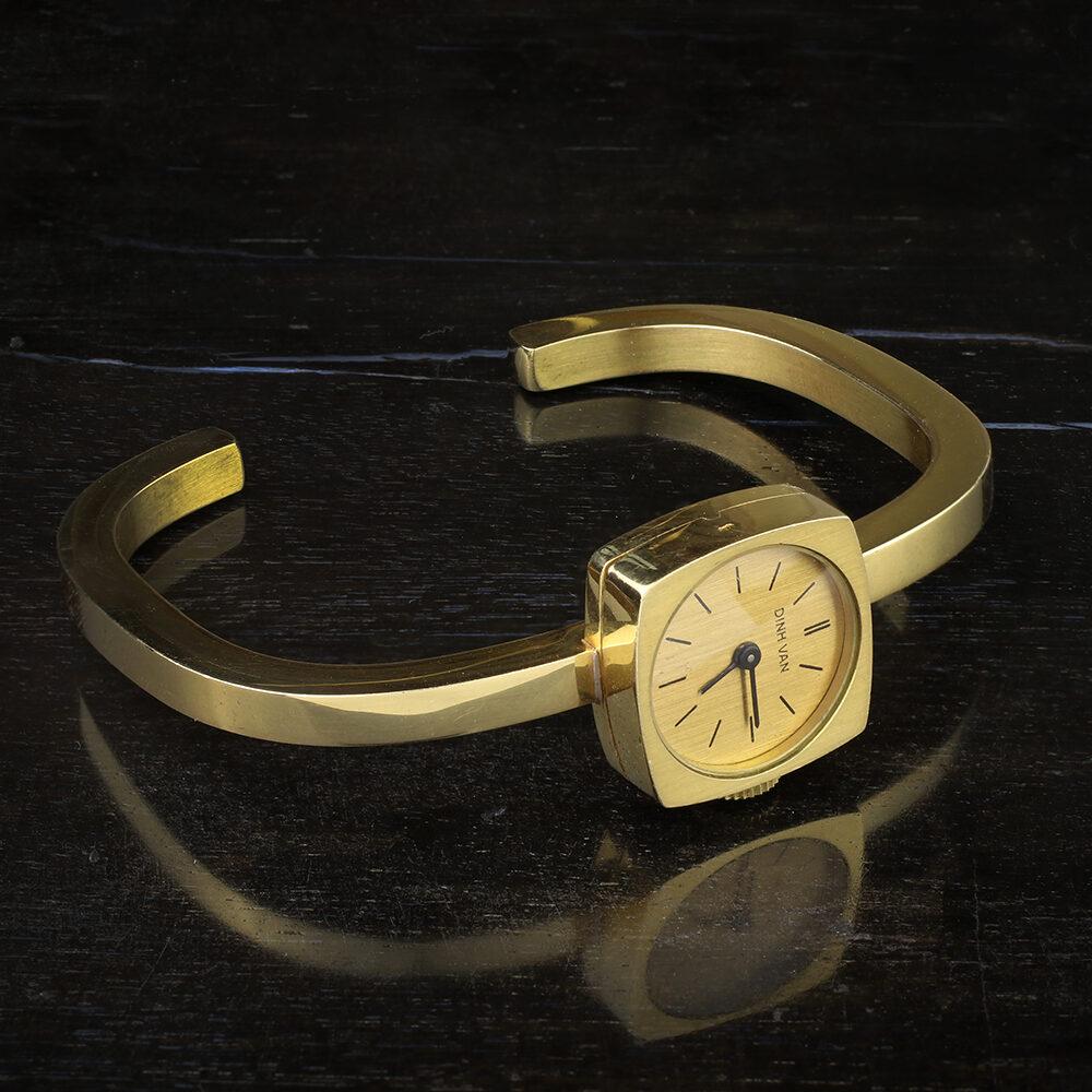 Dinh Van Gold Wristwatch
