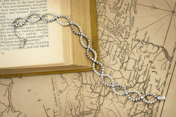 Belle Epoque Natural Pearl And Diamond Bracelet