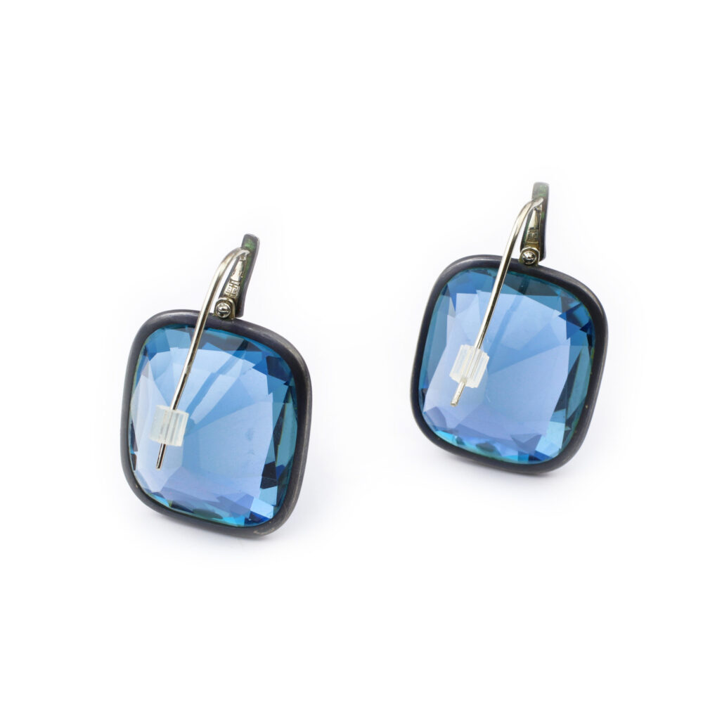 Hemmerle Aquamarine Ear Pendants