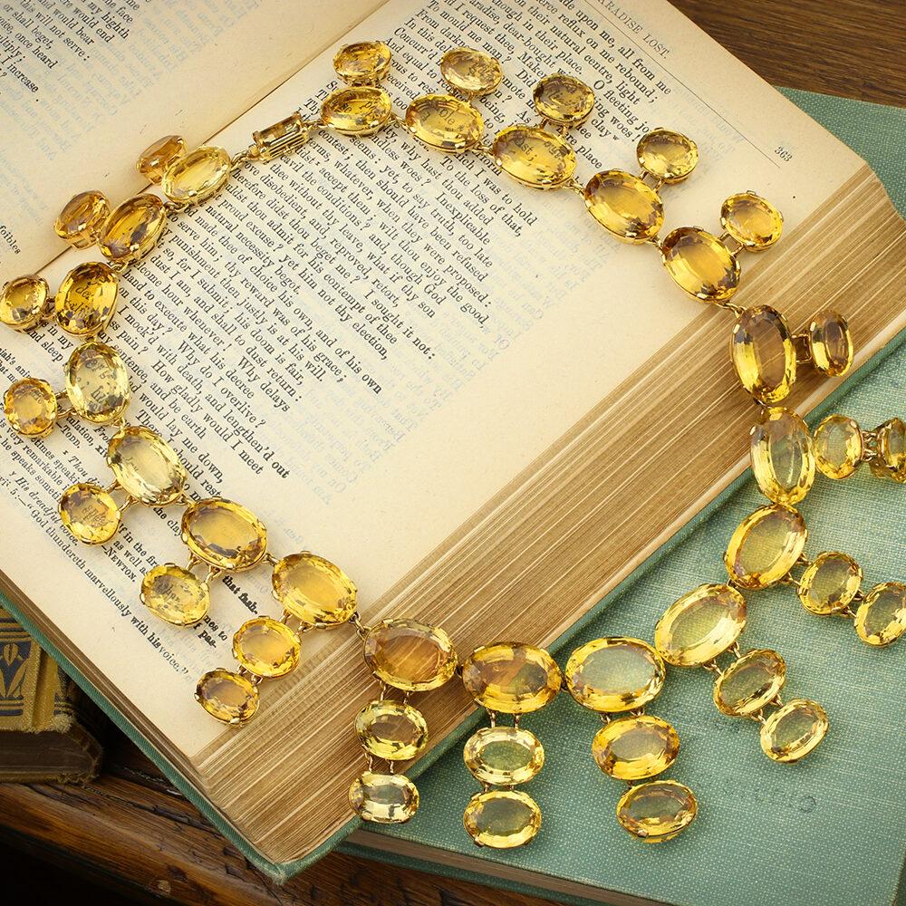 Cartier Citrine Necklace