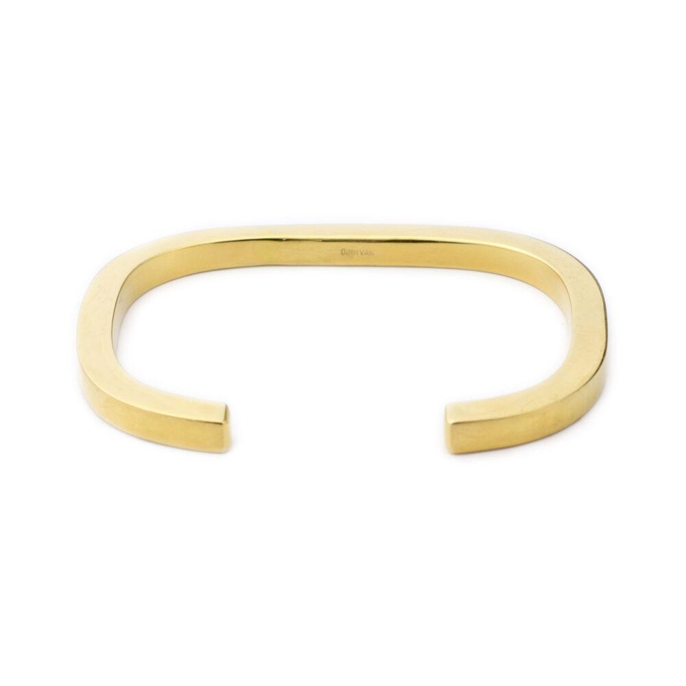 Dinh Van Gold Cuff Bracelet