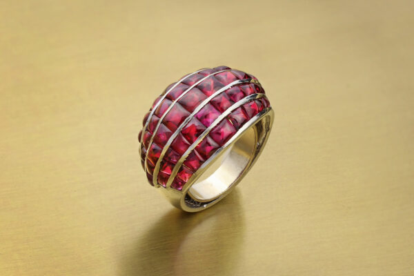Boivin Ruby Set Dome Ring