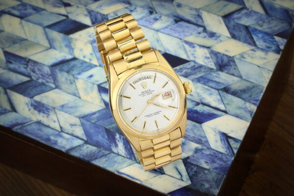 Rolex Yellow Gold Day Date President Wristwatch