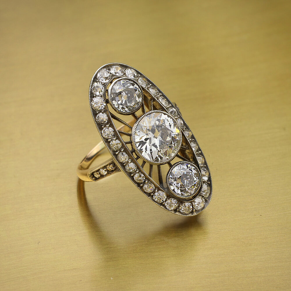 Antique Diamond Set Ring