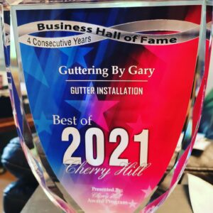 Guttering by Gary excellence award 2021