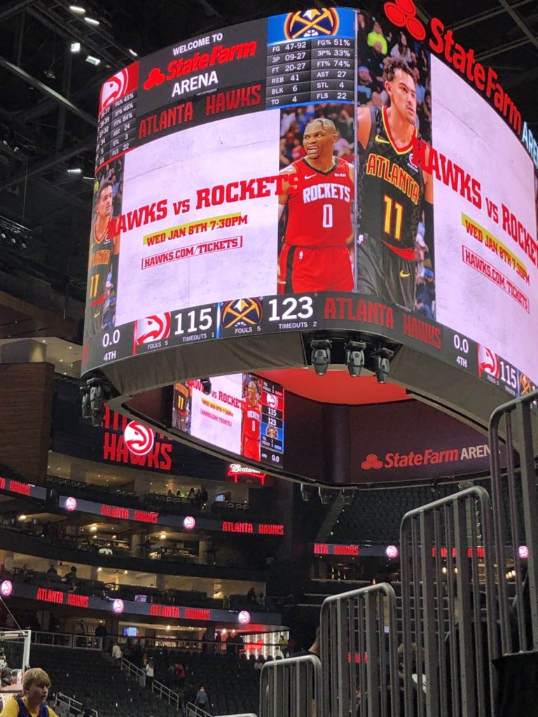 Hawks fall victim to Nuggets 115-123