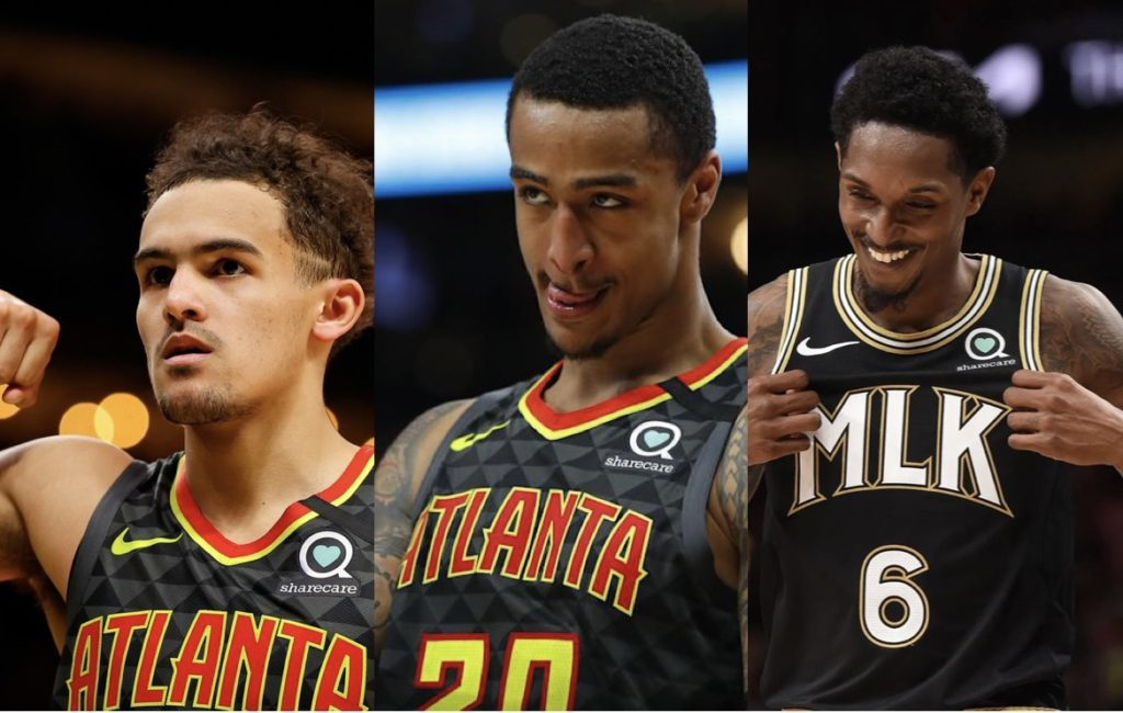 Hawks resign Young, Williams and Collins
