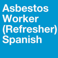 Spanish Asbestos Worker Refresher Training - If you are looking for comprehensive Spanish training courses in Chicago, IL, explore the course options at PHS Environmental & Occupational Services.