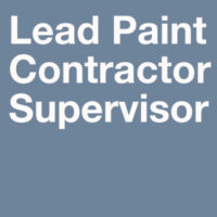 Lead Training Courses-Lead Contractor Supervisor Course - LCS 20-0616 - 32 Hour Initial training for persons who supervise lead work site activities. Illinois-approved.