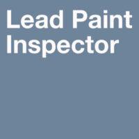 Lead Training Courses-Lead paint inspector training