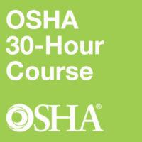 OSHA/EOHS 30-Hour Training Course