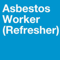 Asbestos Worker Refresher training in English for asbestos abatement workers, this course is Illinois and Indiana approved.