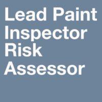 Lead Training Courses-lead-based paint inspector/risk assessor training