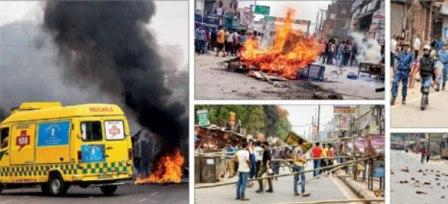 Bandh against reservation turns ugly in Bihar