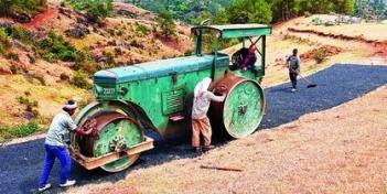 Meghalaya Village has first plastic road of Northeast