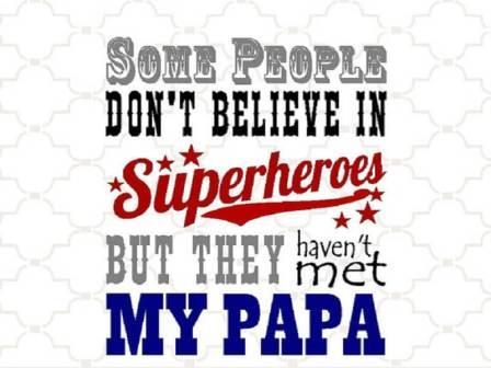 """""""It's my Dad who's my biggest fan!"""""""