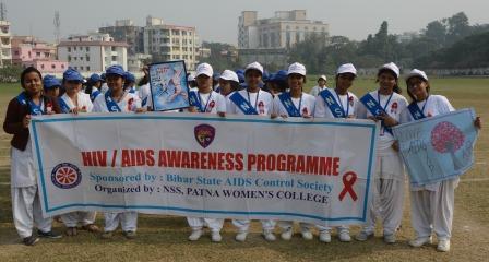 Patna Women's College celebrates International AIDS Day