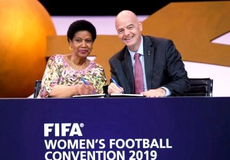 FIFA ENDORSES GENDER EQUALITY ON AND OFF PITCH