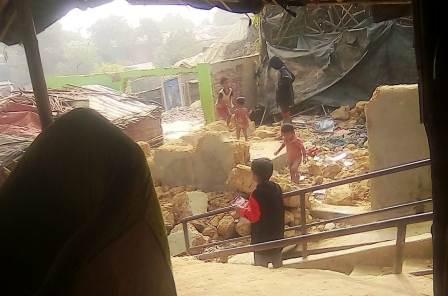 Rohingya Terrorists attack Christians in Cox Bazaar