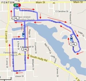 2014 Run Map