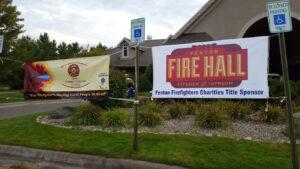 2016 Firefighters Title golf sponsor - Fenton Fire Hall