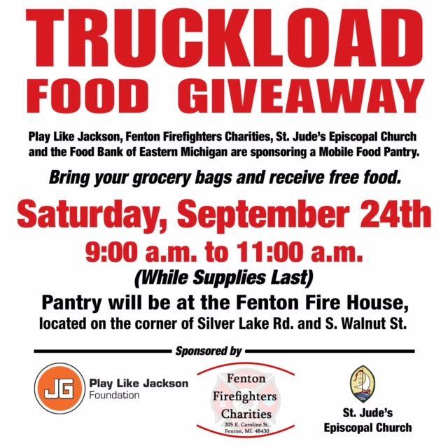 2016 September Truckload Food Giveaway